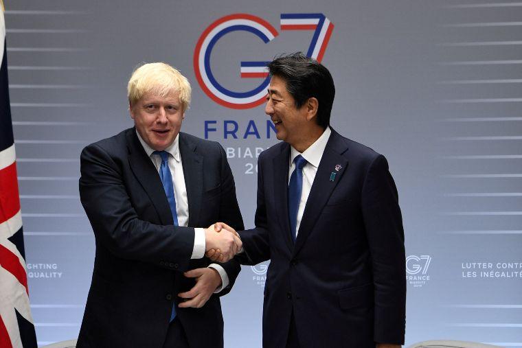 Reino Unido y Japón firman acuerdo comercial
