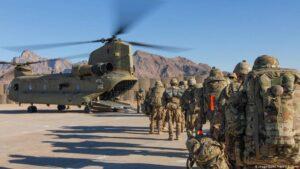 Estados Unidos retira tropas de Afganistán