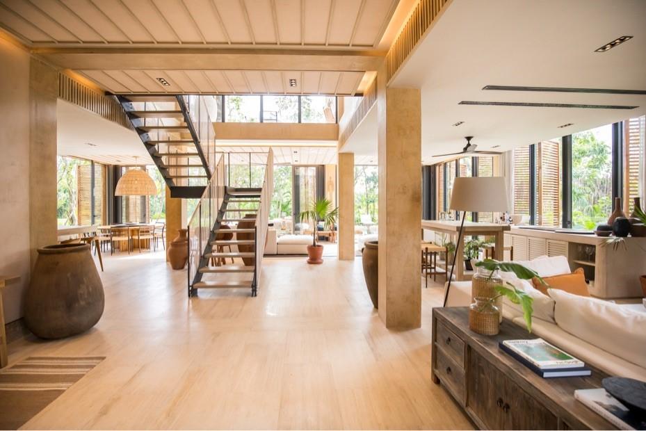 Imagen que ilustra una vivienda de Corasol, el complejo inmobiliario del cual Hugo Salinas Sada es socio inversionista