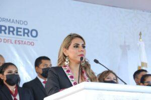 Evelyn Salgado es la nueva gobernadora de Guerrero.